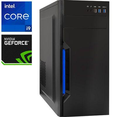 Компьютер PRO-1525607 Intel Core i9-11900F 2500МГц, Intel H510, 16Гб DDR4, NVIDIA GeForce RTX 3060 Ti 8Гб, SSD 240Гб, 700Вт, Midi-Tower