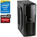Компьютер PRO-094890 Intel Celeron G3930 2.9 ГГц, Intel B250, 4 Гб DDR4 2133 МГц, без SSD, AMD Radeon RX 580 4096 Мб, 700 Вт, Mini-Tower, USB3.0