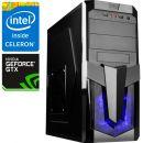 Компьютер PRO-093050 Intel Celeron G3930 2.9 ГГц, Intel H110, 4 Гб DDR4 2133 МГц, без SSD, NVIDIA GeForce GTX 1080 8192 Мб, 700 Вт, Midi-Tower, USB3.0
