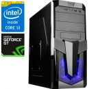 Компьютер PRO-259010 Intel Core i3-8100 3.6 ГГц, Intel Z370, 4 Гб DDR4 2133 МГц, без SSD, NVIDIA GeForce GT 710 1024 Мб, 500 Вт, Midi-Tower, USB3.0/3.1