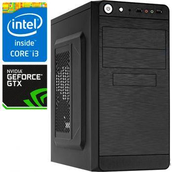 Компьютер PR-768467 Intel Core i3 8100 3600 МГц, Intel H310, 8Гб DDR4 2400МГц, без SSD, 1000Гб, без DVD-RW, NVIDIA GeForce GTX1050 2048Мб, 450Вт, Mini-Tower, без ОС