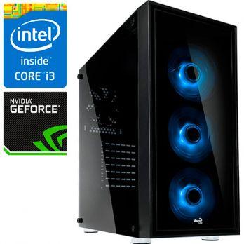 Компьютер PR-256417 Intel Core i3 8100 3600 МГц, Intel Z370, 8Гб DDR4 2400МГц, без SSD, 1000Гб, без DVD-RW, NVIDIA GeForce GTX1060 6144Мб, 500Вт, Midi-Tower, без ОС