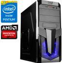 Компьютер PRO-109690 Intel Pentium G4400 3.3 ГГц, Intel H110, 4 Гб DDR4 2133 МГц, без SSD, AMD Radeon RX 580 4096 Мб, 700 Вт, Midi-Tower, USB3.0