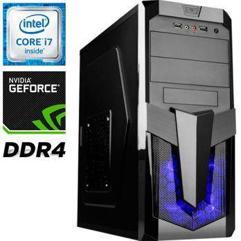 Компьютер PRO-229907 Intel Core i7-6700 3400МГц / Intel H110 / 16Гб DDR4 / без SSD / 1000Гб / без DVD-RW / NVIDIA GeForce GTX 1070 8192Мб / 600Вт / Midi-Tower / без ОС