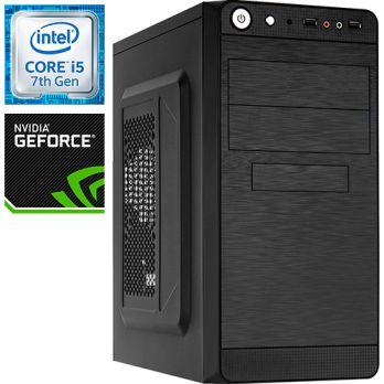 Компьютер PRO-195657 Intel Core i5-7500 3400МГц / Intel H110 / 8Гб DDR4 2400МГц / без SSD / 1000Гб / без DVD-RW / NVIDIA GeForce GTX 1050 2048Мб / 450Вт / Mini-Tower / без ОС