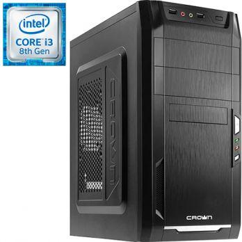 Компьютер PRO-105048 Intel Core i3-8100 3600МГц / Intel H310 / 4Гб DDR4 2400МГц / без SSD / 500Гб / без DVD-RW / Intel UHD Graphics 630 (встроенная) / 350Вт / Mini-Tower / без ОС