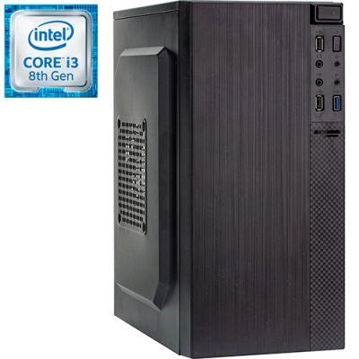 Компьютер PRO-0105048 Intel Core i3-8100 3600МГц, Intel H310, 4Гб DDR4 2400МГц, HDD 500Гб, Intel UHD Graphics 630 (встроенная), 350Вт, Mini-Tower