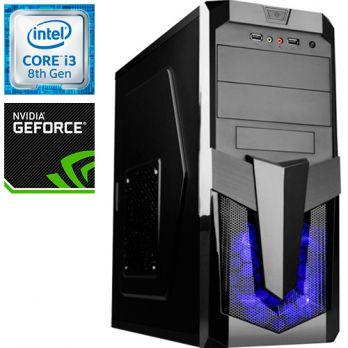 Компьютер PR-258210 Intel Core i3 8100 3600 МГц, Intel Z370, 4Гб DDR4 2400МГц, без SSD, без DVD-RW, NVIDIA GeForce GT1030 2048Мб, 500Вт, Midi-Tower, без ОС