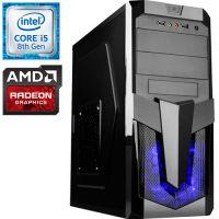 Компьютер PRO-620757 Intel Core i5-8400 2800МГц / Intel H310 / 16Гб DDR4 2400МГц / без SSD / 1000Гб / без DVD-RW / AMD Radeon RX 590 8192Мб / 700Вт / Midi-Tower / без О...