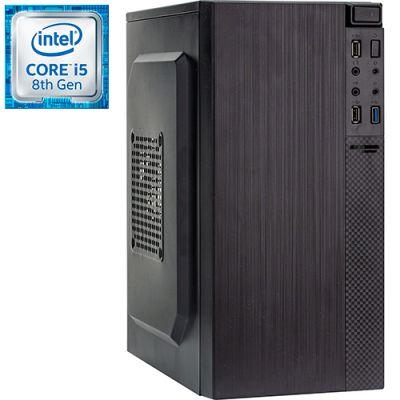 Компьютер PRO-0775667 Intel Core i5-8400 2800МГц, Intel H310, 8Гб DDR4 2400МГц, HDD 1Тб, Intel UHD Graphics 630 (встроенная), 450Вт, Mini-Tower
