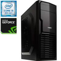 Компьютер PR-677567 Intel Core i5 8400 2800 МГц, Intel B360, 8Гб DDR4 2400МГц, SSD 240Гб, 1000Гб, без DVD-RW, NVIDIA GeForce GTX1050Ti 4096Мб, 500Вт, Mini-Tower, без ОС...