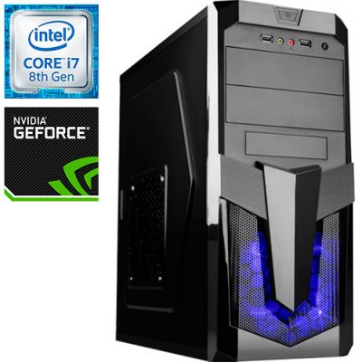 Компьютер PRO-804937 Intel Core i7-8700K 3700МГц / Intel Z370 / 16Гб DDR4 2400МГц / SSD 240Гб / 1000Гб / без DVD-RW / NVIDIA GeForce RTX 2080 8192Мб / 750Вт / Midi-Tower / без ОС