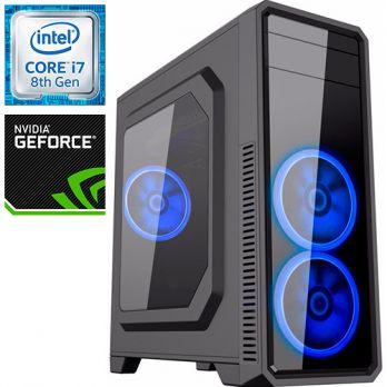 Компьютер PR-377787 Intel Core i7 8700K 3700 МГц, Intel Z370, 16Гб DDR4 2400МГц, без SSD, 1000Гб, без DVD-RW, NVIDIA GeForce GTX1070Ti 8192Мб, 700Вт, Midi-Tower, без ОС