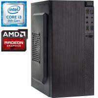 Компьютер PRO-0987847 Intel Core i3-9100F 3600МГц, Intel H310, 8Гб DDR4 2400МГц, HDD 1Тб, AMD Radeon RX 550 2Гб, 450Вт, Mini-Tower...