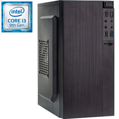 Компьютер PRO-1501107 Intel Core i3-9100 3600МГц, Intel H310, 8Гб DDR4 2400МГц, HDD 1Тб, Intel UHD Graphics 630 (встроенная), 450Вт, Mini-Tower