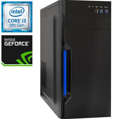 Компьютер PRO-1741957 Intel Core i3-9100 F 3600МГц, Intel H310, 16Гб DDR4 2400МГц, SSD 240Гб, HDD 1Тб, NVIDIA GeForce GTX 1660 SUPER 6Гб, 500Вт, Midi-Tower
