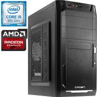 Компьютер PRO-0931137 Intel Core i5-9400F 2900МГц / Intel H310 / 8Гб DDR4 2400МГц / без SSD / 1000Гб / без DVD-RW / AMD Radeon RX 550 2048Мб / 450Вт / Mini-Tower / без ...