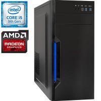 Компьютер PRO-0280497 Intel Core i5-9400F 2900МГц, Intel H310, 8Гб DDR4 2666МГц, SSD 240Гб, HDD 1Тб, AMD Radeon RX 570 4Гб, 500Вт, Midi-Tower...