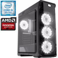 Компьютер PRO-0511027 Intel Core i5-9400F 2900МГц / Intel Z390 / 16Гб DDR4 2400МГц / без SSD / 1000Гб / без DVD-RW / AMD Radeon RX 580 8192Мб / 600Вт / Midi-Tower / без...