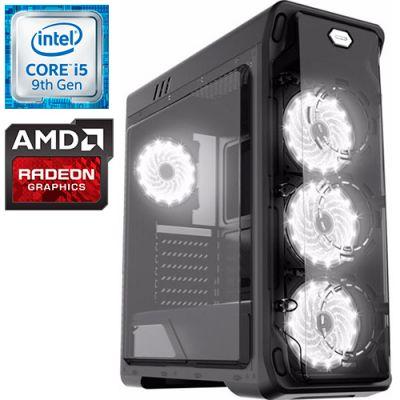 Компьютер PRO-0511027 Intel Core i5-9400F 2900МГц / Intel Z390 / 16Гб DDR4 2400МГц / без SSD / 1000Гб / без DVD-RW / AMD Radeon RX 580 8192Мб / 600Вт / Midi-Tower / без ОС