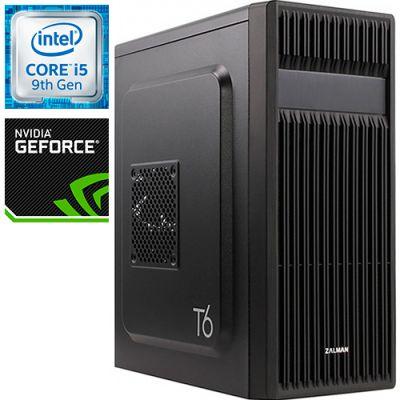 Компьютер PRO-1073687 Intel Core i5-9400F 2900МГц, Intel H310, 16Гб DDR4 2666МГц, SSD 240Гб, HDD 1Тб, NVIDIA GeForce GTX 1650 4Гб, 500Вт, Midi-Tower