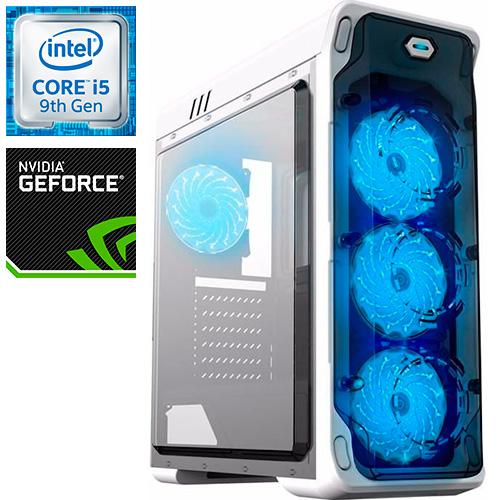 Компьютер PRO-941998 Intel Core i5-9400F 2900МГц / Intel Z370 / 64Гб DDR4  2400МГц / SSD 480Гб / 500Гб / без DVD-RW / NVIDIA