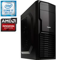 Компьютер PRO-0303287 Intel Core i7-9700KF 3600МГц, Intel B365, 16Гб DDR4 2666МГц, SSD 240Гб, HDD 1Тб, AMD Radeon RX 580 8Гб, 600Вт, Mini-Tower...