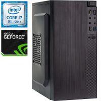 Компьютер PRO-1295247 Intel Core i7-9700F 3000МГц, Intel H310, 16Гб DDR4 2666МГц, SSD 240Гб, HDD 1Тб, NVIDIA GeForce GT 1030 2Гб, 450Вт, Mini-Tower...