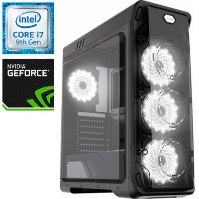 Компьютер PRO-0848114 Intel Core i7-9700K 3600МГц / Intel Z390 / 32Гб DDR4 2666МГц / SSD 480Гб / 2000Гб / NVIDIA GeForce RTX 2070 8Гб / 700Вт / Midi-Tower