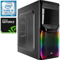 Компьютер PRO-0579477 Intel Core i9-9900KF 3600МГц / Intel H310 / 32Гб DDR4 2666МГц / SSD 240Гб / 1000Гб / NVIDIA GeForce RTX 2080 8Гб / 750Вт / Midi-Tower...