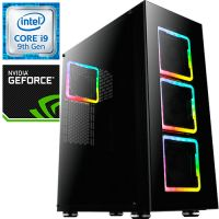 Компьютер PRO-1039422 Intel Core i9-9900K F 3600МГц, Intel Z390, 64Гб DDR4 2666МГц, SSD 960Гб, HDD 2Тб, NVIDIA GeForce RTX 2080 Ti 11Гб, 800Вт, Full-Tower...