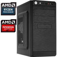 Компьютер PR-767658 AMD Ryzen 3 2200G 3500 МГц, AMD A320, 4Гб DDR4 2400МГц, без SSD, 500Гб, без DVD-RW, AMD Radeon Vega 8 (встроенная), 450Вт, Mini-Tower, без ОС...