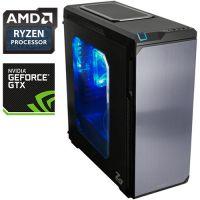 Компьютер PR 406934 AMD Ryzen 7 1800X 3600МГц, AMD X370, 32Гб DDR4, SSD 240Гб, 2000Гб, без DVD, NVIDIA GeForce GTX1080Ti 11264Мб, 700Вт, Midi-Tower, без ОС...
