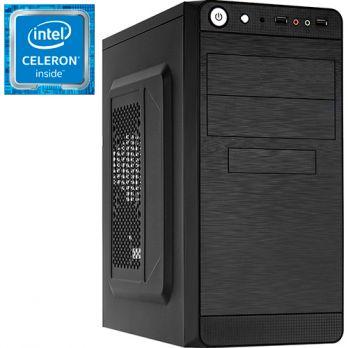 Компьютер PRO-602070 Intel Celeron G4900 3100МГц / Intel H310 / 4Гб DDR4 2400МГц / SSD 120Гб / без HDD / без DVD-RW / Intel UHD Graphics 610 (встроенная) / 450Вт / Mini-Tower / без ОС