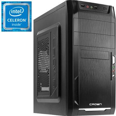 Компьютер PRO-025898 Intel Celeron J1800 2410МГц / 4Гб DDR3 / без SSD / 500Гб / без DVD-RW / Intel HD Graphics (встроенная) / 350Вт / Mini-Tower / без ОС