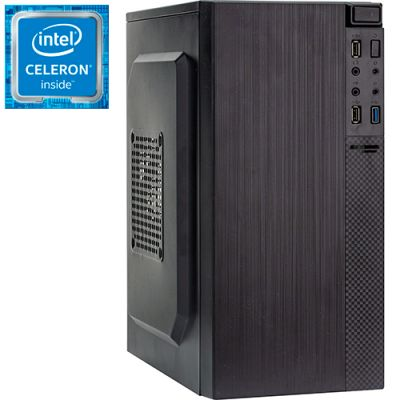Компьютер PRO-0025898 Intel Celeron J1800 2410МГц, 4Гб DDR3, HDD 500Гб, Intel HD Graphics (встроенная), 350Вт, Mini-Tower