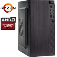 Компьютер PRO-1264980 AMD Ryzen 5 3400G 3700МГц, AMD B450, 8Гб DDR4 2666МГц, SSD 240Гб, AMD Radeon Vega 11 (встроенная), 450Вт, Mini-Tower...