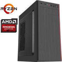 Компьютер PRO-1126287 AMD Ryzen 5 3600 3600МГц / AMD A320 / 16Гб DDR4 2666МГц / 1000Гб / AMD Radeon RX 570 4Гб / 500Вт / Midi-Tower...