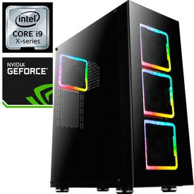 Компьютер PRO-0406775 Intel Core i9-10900X 3700МГц, Intel X299, 128Гб DDR4 2666МГц, SSD 960Гб, HDD 4Тб, NVIDIA GeForce RTX 2080 Ti 11Гб, 800Вт, Full-Tower
