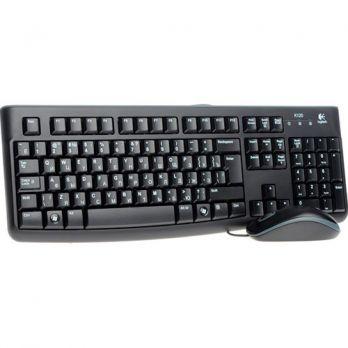 Клавиатура и мышь Logitech MK120 Black (920-002561) USB