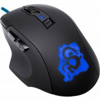 Мышь игровая Oklick 725G DRAGON Black-Blue USB...
